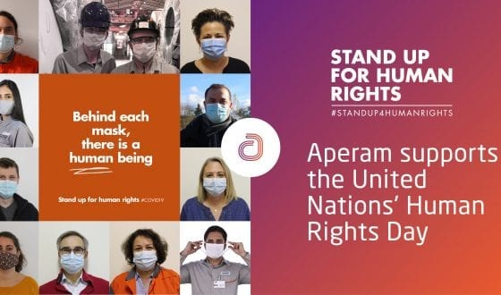 Aperam supports the United Nations' Human Rights Day