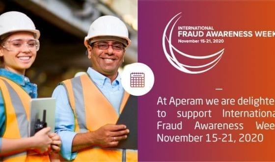 Aperam supports International Fraud Awareness Week