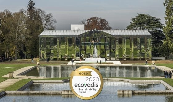 Rating Gold by EcoVadis